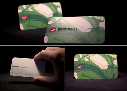 Shikaku Business Cards | by Accent Creative