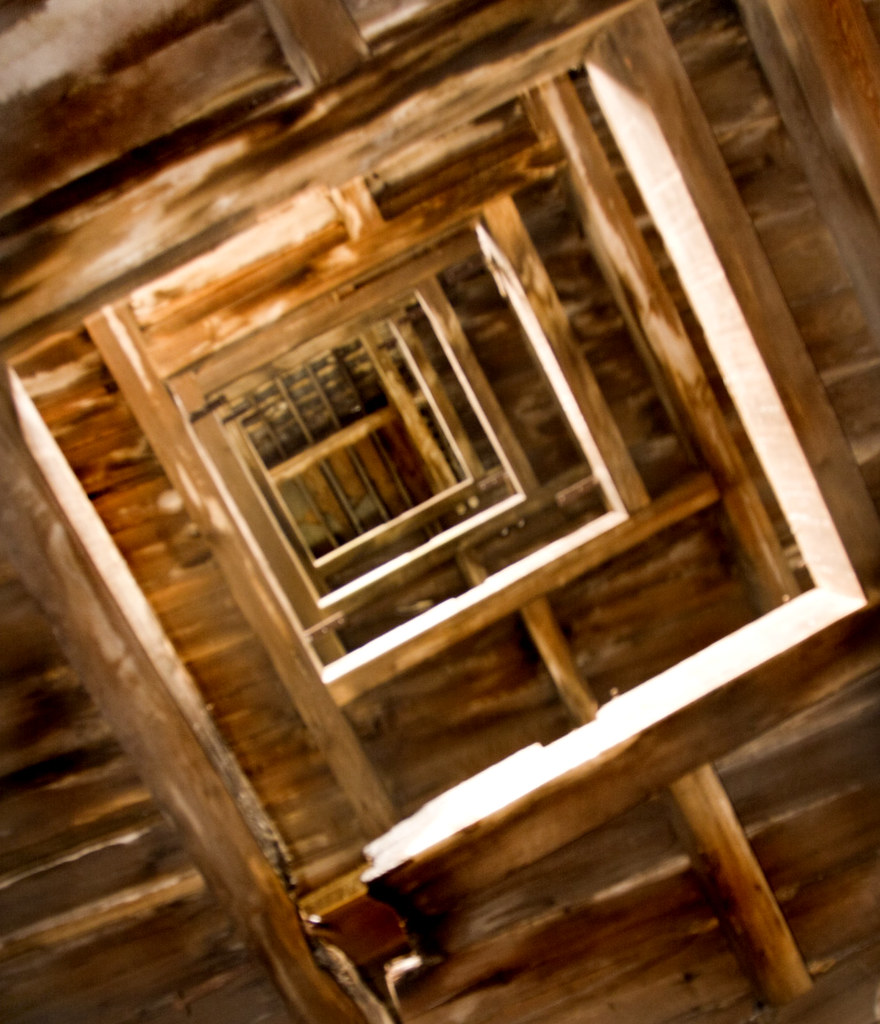 View Up The Floors Of The Railway Warehouse On