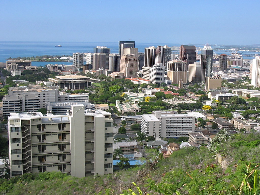 Downtown Honolulu from...