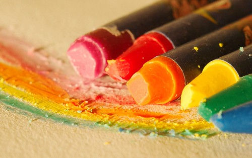 crayon rainbow | by .robbie