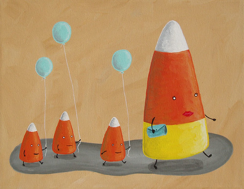Candy Corn Family | by grickily
