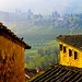 Bird's-eye view, San Gimignano