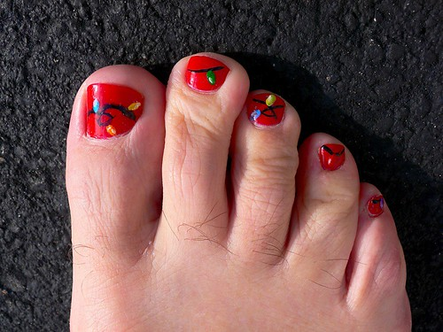 Simple Toe Nail Designs For Beginners