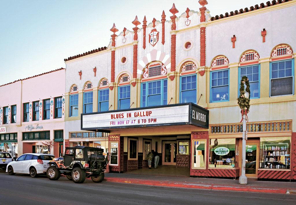el morro theater 1928 gallup new mexico spanish