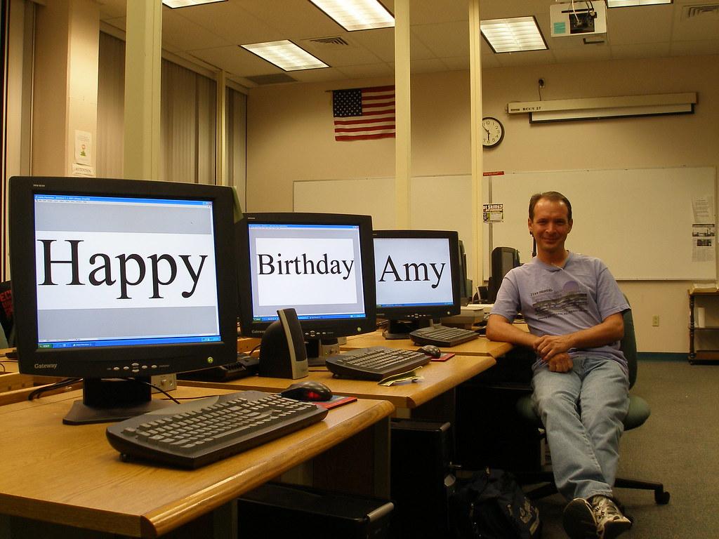 365 Days 28 11 28 Quot Happy Birthday Amy I Walked Into
