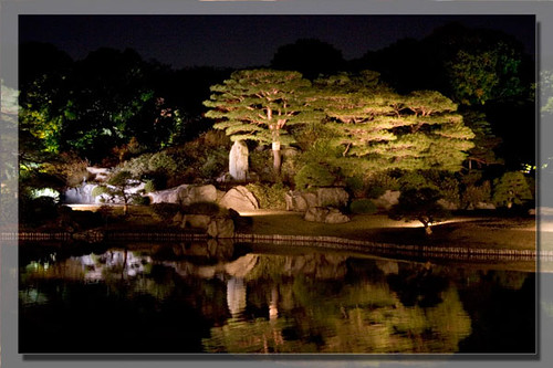 Japanese Garden At Night japanese garden at night | taken in rikugi-en | kasia.some | flickr