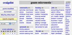 Craigslist guam micronesia