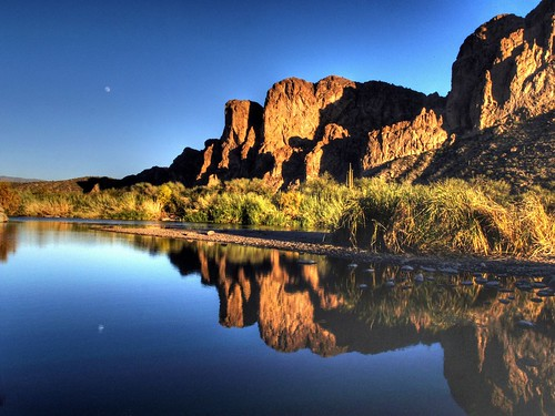 Moon on the Salt River | by Videoal