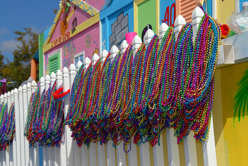 Mardi Gras 2007', beads at the ready | by divemasterking2000
