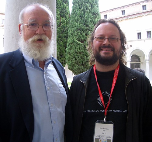 Daniel Dennett and David Orban | by david.orban