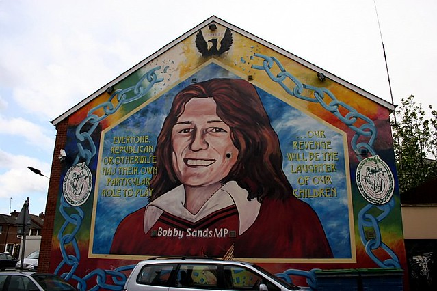 Bobby sands murals of issues belfast northern irelan for Bobby sands mural