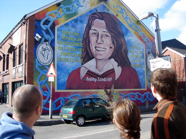 Bobby sands mural flickr photo sharing for Bobby sands mural
