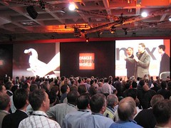 Larry Ellison at his Openworld Keynote | by ali_bongo
