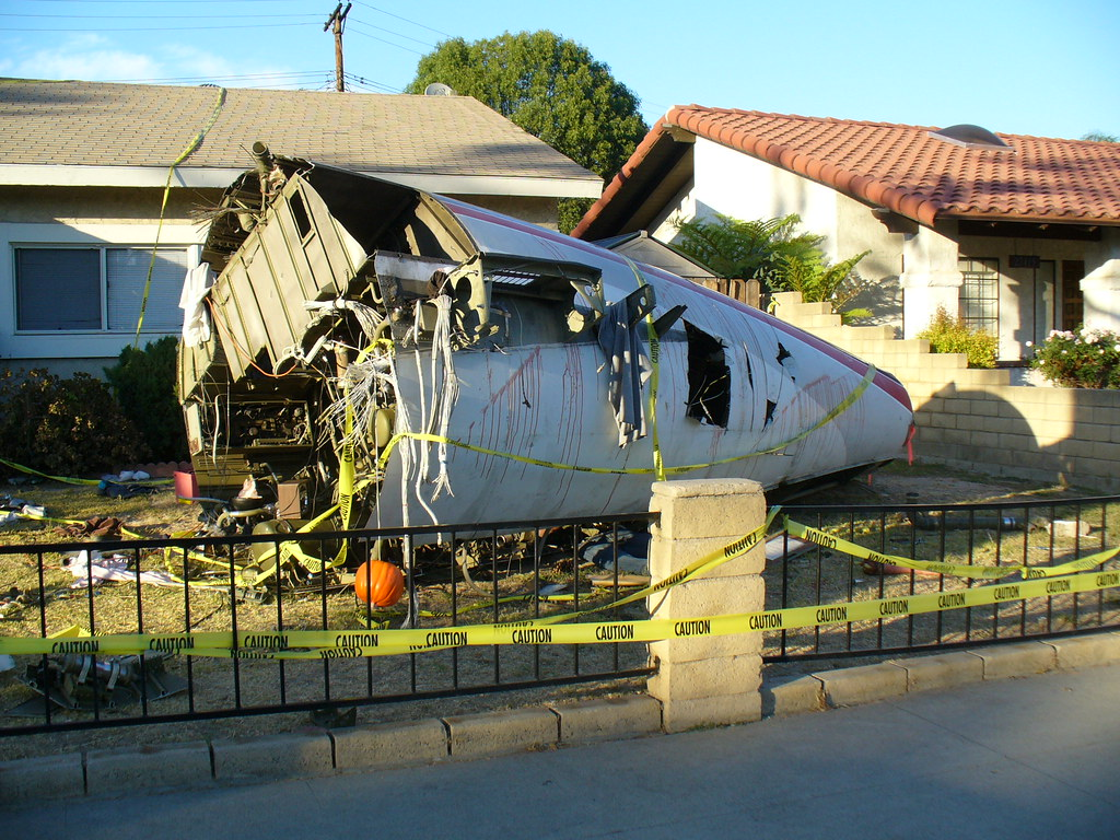 Superior Awesome Halloween Decorations Plane Crash Scene Viii By Eitheror.