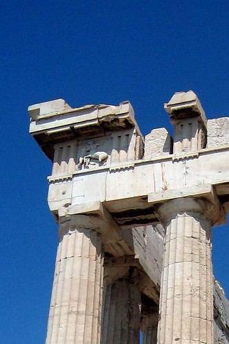 how to get from athens port to parthenon
