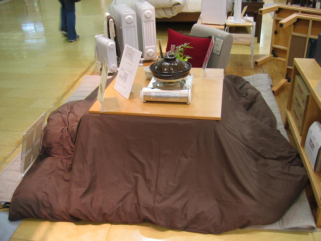 kotatsu my new muji kotatsu on sale but almost impossibl flickr. Black Bedroom Furniture Sets. Home Design Ideas
