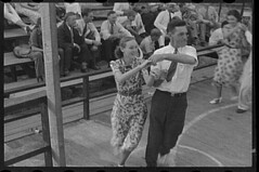 No Known Restrictions: Square Dancing by Ben Shahn, 1937 (LOC) | by pingnews.com