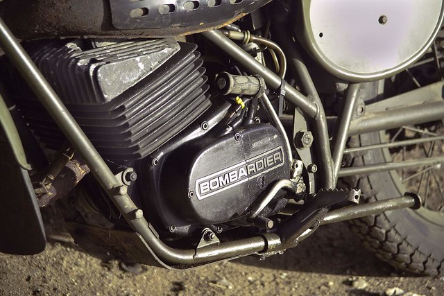 Can Am Bombardier Rotax 250cc Engine British Army Spec