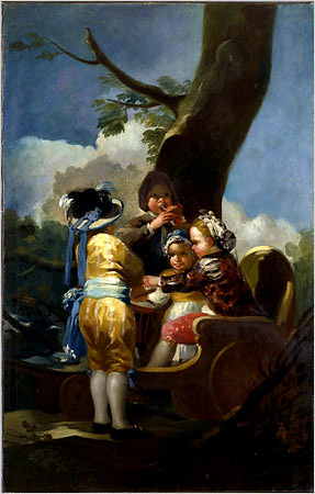 "Goya's ""Children With a Cart"" 