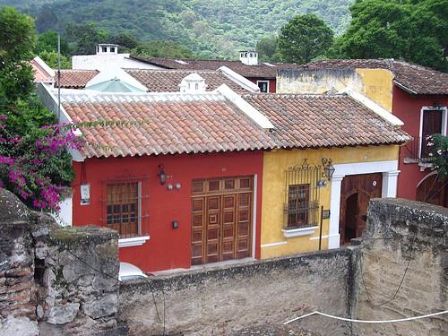 Casas De Antigua Guatemala Houses Of Antigua Guatemala Flickr