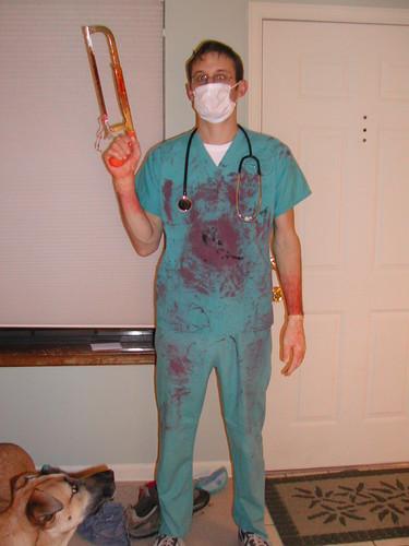 ... scottu0027s bloody surgeon costume   by scottmotron & scottu0027s bloody surgeon costume   this is what i was for hallu2026   Flickr