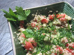 quinoa salad | by Pip in the city