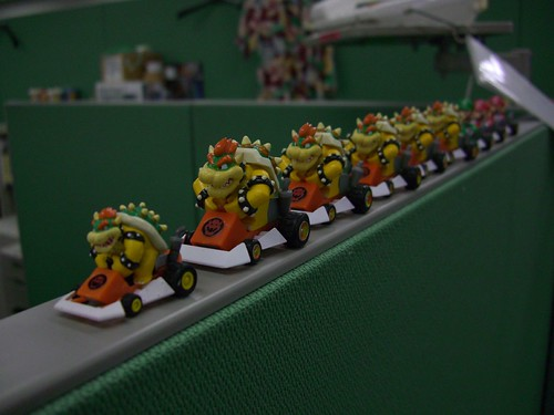 Mario Cart Toys, with bowser | by jonnykgalloway