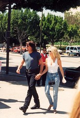 Richie Sambora & Heather Locklear | by Alan Light