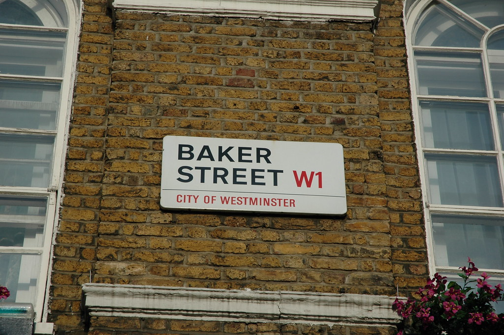 A Day In London 221b Baker Street Sherlock Holmes Flickr