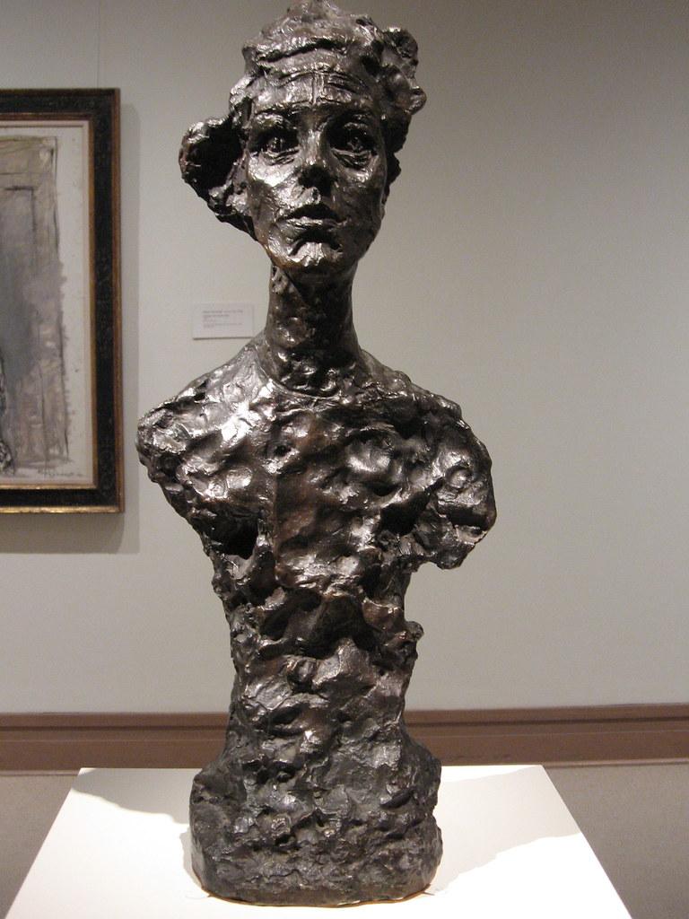 Alberto Giacometti Woman Of Venice Ii 1956painted