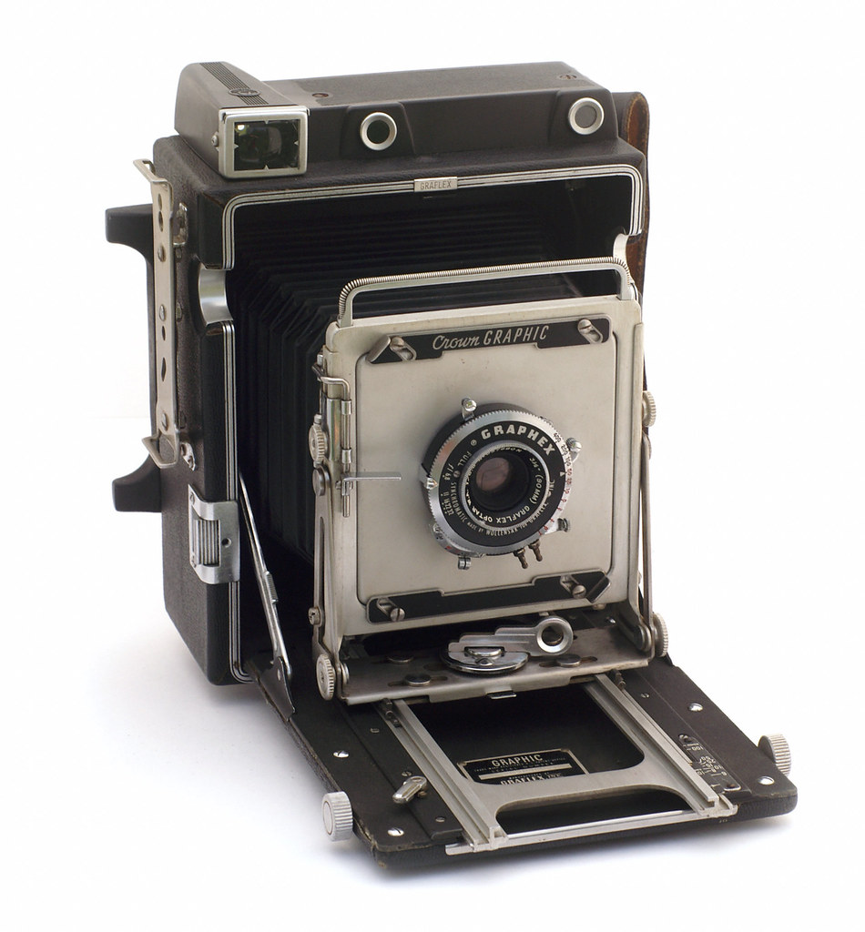 Rear View Camera >> Graflex Pacemaker Crown Graphic | Manufactured between 1947 … | Flickr