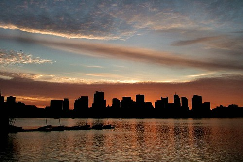 Charles river sunrise | by ccgd