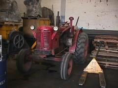 David Brown 50D tractor and Bob Frassinetti | by artdealer_ar