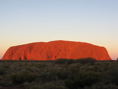 Uluru Sunset | by rplzzz