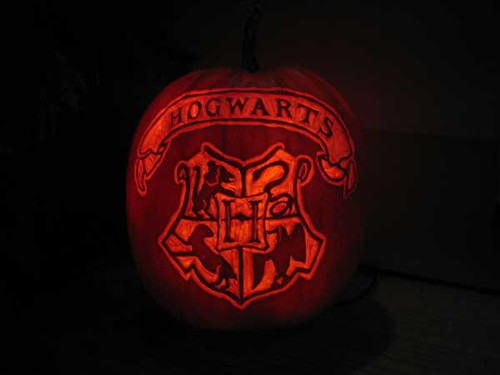 Hogwarts Pumpkin | by OneBluePebble