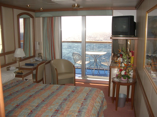 Crown Princess Veranda Stateroom