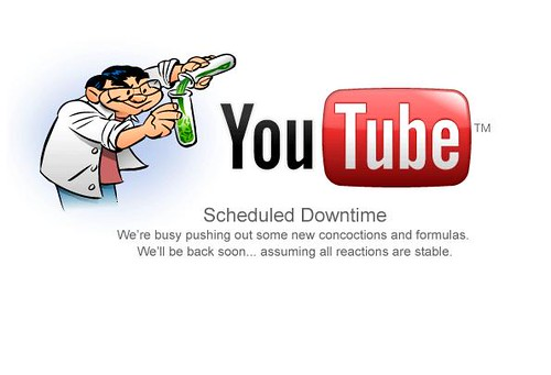 You Tube Scheduled Downtime | by shawnblog