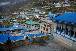 Namche Bazaar from our lodge | by Andreas' Photos