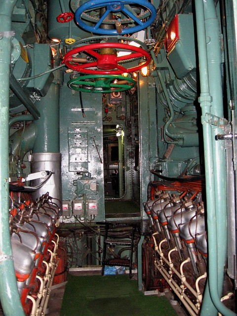 Boat Engine Room: The Engine Room Inside The