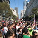Looking east on Market St... San Francisco Love Fest parade