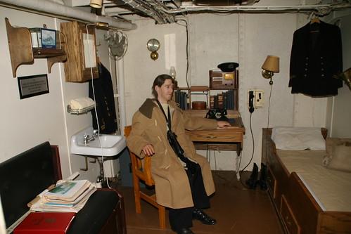 Hmcs Sackville Captain Cabin