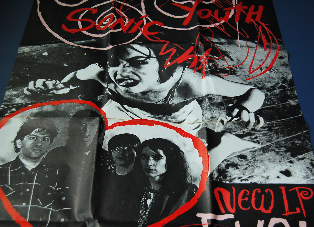 Sonic Youth Promo Poster Evol | - 337.1KB