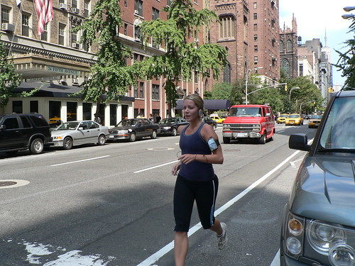 Jogging in the Fifth Avenue | by Geff Rossi