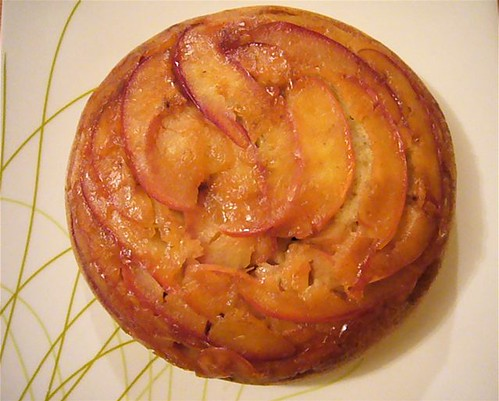 Steamed Apple Cake