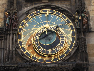 Astronomical clock, Prague | by ImageLink