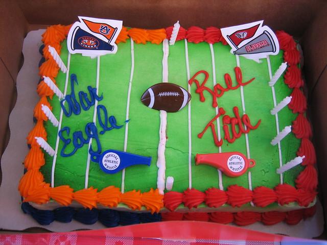 Auburn Alabama Birthday Cakes