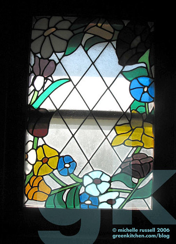 Mom's stained glass window | by Green Kitchen