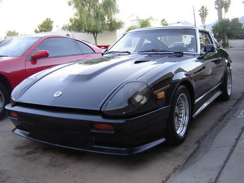 Miguel S 280zx Turbo Black So Black No Light Can Escape