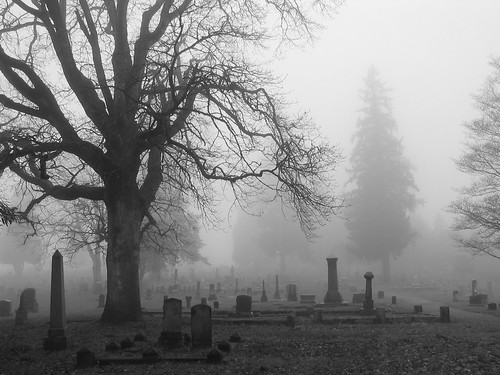 Black and White Cemetary | by The Munger Mange