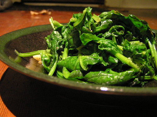Sauteed Spinach | by Laurel Fan